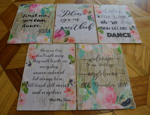 Quote Display – Wedding Delight